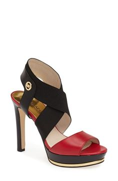 MICHAEL Michael Kors 'Meadow' Platform Sandal (Women) available at #Nordstrom