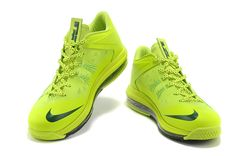 timeless design 7b679 c51f1 Cheap Nike Air Max Lebron 10 Green Black Basketball Shoes On Sale, Indoor  Basketball,