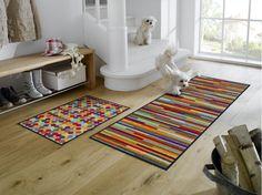 Fußmatte Mikado von wash+dry