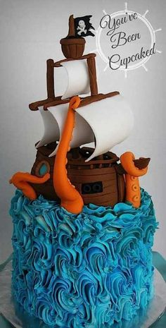 Cake Wrecks - Home - Sunday Sweets For Pirates