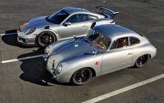 Porsche old & new More