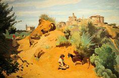 Camille Corot - Cenzano, 1843