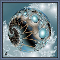Fractal planet by theaver on DeviantArt