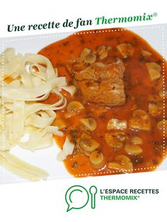 Marengo calfskin by A fan recipe to find in the Meat category on www.espace-recett …, from Thermomix®. Italian Cooking, Italian Recipes, Italian Foods, Crockpot Recipes For Two, Lchf, Crack Chicken, Meals For Two, Chana Masala, Risotto