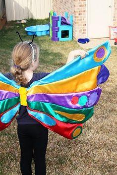 Mumma made it: rainbow friday.. on monday :) Hungry caterpillar costume