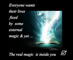 The #magic is in you