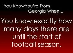 Disclaimer: I am not saying that any of these apply to JUST Georgia. Probably half will apply to the. Georgia Girls, Georgia On My Mind, South Quotes, South Mouth, Go Gamecocks, Carolina Panthers Football, Bulldogs Football, Athens Georgia, Football Is Life