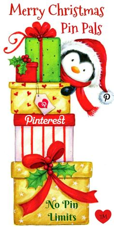Merry Christmas Pin Pals <3 No Pin Limits on my Pinterest boards <3 Tam <3