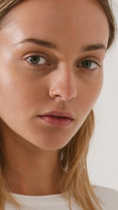 Saskia Diez Faux Nose Ring in Rose Gold | The Dreslyn