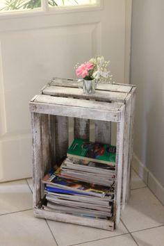 range magazines toilette en récup Range Magazine, Classroom Decor, Wooden Boxes, Decoration, Stuff To Do, Sweet Home, New Homes, House Design, Diy Crafts