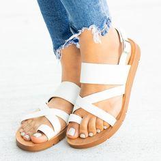 1c541fe9c9d5 Shop Women Strappy Toe-Hold Sandals online. Discover unique designers  fashion at Variedshoes.