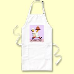 Purchase the perfect customizable Chef apron right here on Zazzle! Chef Apron, Great Gifts For Mom, Grill Master, Barbecue Sauce, Fibromyalgia, Cupcakes, Happy, Aprons, Laughter