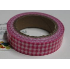 Buy Red and white checks decorative tape/Adhesive for any use by undefined, on Paytm, Price: Rs.125?utm_medium=pintrest