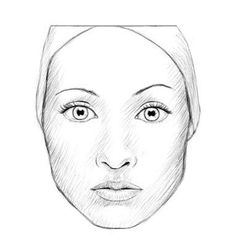 How to draw a realistic face (female) : : Wow, I never realized that I was actually (subconsciously) following these steps when drawing faces. Gotta share this with the girls, who think I'm some kind of artist — now they can be, too! :-)
