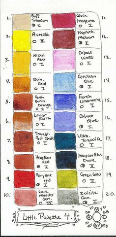 Current Watercolor Palette | Flickr - Photo Sharing!