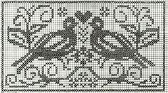 crochet em revista: Passarinhos