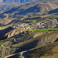 Kibber is a village high in the Spiti Valley in the Himalayas at 4270 metres or 14,200 ft in Himachal Pradesh in northern India. It contains a monastery and the Kibber Wildlife Sanctuary....