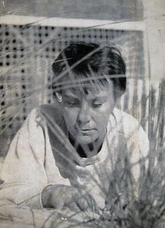 Harper Lee, photo by Truman Capote, 1960 (used on the back of the first edition of To Kill a Mockingbird). [via]