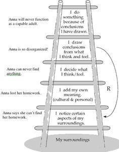 Ladder of inference peter senge