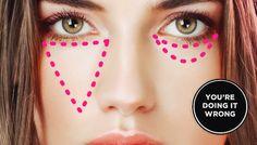 Ideas For Makeup Tutorial Concealer Cover Up How To Apply 58 + Ideen für Make-up Tutorial Covering Dark Circles, Dark Circles Under Eyes, Eye Circles, Concealer For Dark Circles, Under Eye Concealer, Cream Concealer, Eyeliner Hacks, Contour Makeup, Eye Makeup