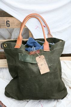 Union Olive Bag. . . Bag It Up!!!