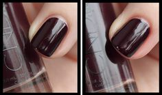 Have short nail beds and want to create the illusion of length? Leave a gap at the sides when applying your lacquers.   Nail Tip – The Slimline Technique