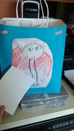 Lola drew her preschool teacher ♡