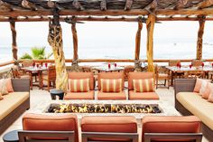 Sip on a #Margarita and #Relax next to the stunning fireplace. #EsperanzaResort