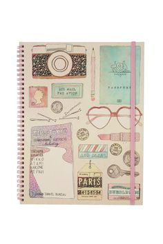 a4 spinout notebook | Cotton On