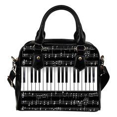 Keyboard Shoulder Handbags Keyboard Piano, Music Jewelry, Buy Shoes Online, Designer Shoulder Bags, Fashion Handbags, Shoulder Handbags, Bag Making, Pu Leather, Diaper Bag