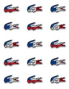 SF#Lacoste - The official partner of the French #Olympic Team #branding