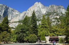 Yosemite National Park, CA - right by where I was born.