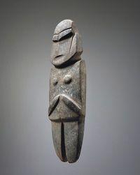 Large Mezcala Stone Figure
