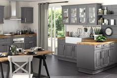 gris bois espace cuisson deco