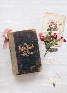 A flower from the bride's bouquet in the family bible, and pass it down from generation to generation adding a flower from each bride!