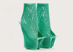 Amazing Mind Blowing Series of 3-D Printed Shoes