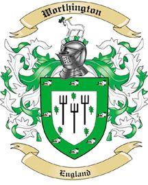 Worthington Family Coat of Arms