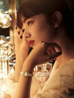 小松菜奈 (Komatsu Nana) ELLE JP Magazine Japanese Models, Japanese Girl, Jp Magazine, Komatsu Nana, Hair Beauty, Celebs, Poses, Actresses, Portrait
