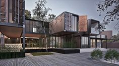 Container house contest on Behance