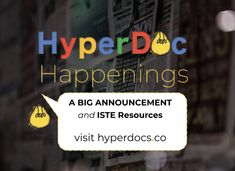 HyperDoc Happenings and After ISTE Reflections and Resources shared here: Let's continue the conversations about purposeful digital lesson design! Teaching Writing, Teaching Resources, Teacher Librarian, Online Classroom, Online Friends, Student Reading, Lesson Plans, How To Memorize Things, Shit Happens