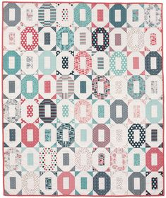From Striking Strip Quilts: The Same but Different quilt