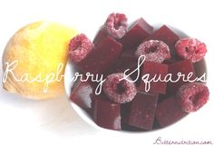 Raspberry Gummy Squares | Butter Nutrition