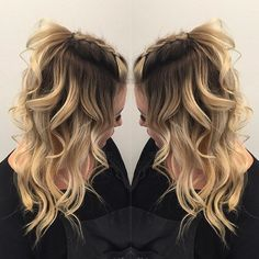 Rooty Blonde... Be proud of them roots... By Butterfly Loft stylist Janai.