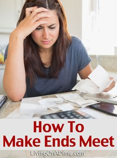 This mom tells how even though she lived on $500 a month how to make ends meet and get ahead financially when it seems like unexpected expenses continually break the budget. How to Make Ends Meet- How to Budget