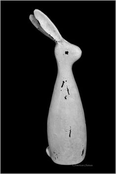 """American Chateau - Large 12"""" Ivory Brown Snow Bunny Rabbit Figurine Statue FP4ND037, C$13.15 (http://www.americanchateau.com/Large-12-Ivory-Brown-Snow-Bunny-Rabbit-Figurine-Statue-FP4ND037/)"""