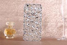 3D transparente Handyhülle mit kleinen Herzen für iPhone 6/6 Plus - spitzekarte.com