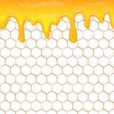 Honey Store, Honey Logo, Humble Bee, Bee Pictures, Honey Label, Flowery Wallpaper, Bee Honeycomb, Bee Art, Bee Theme