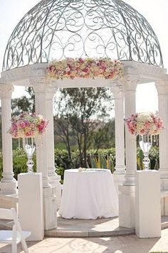 Bo and Christine's Romantic Wedding at the St. Regis Mo...gazebo's
