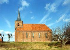 Gered van de ondergang, kerk circa 1200 |  Heveskes | Groningen