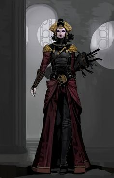 Prodigy or other badass concept. Love the styling as well for one of the races/tone of a region
